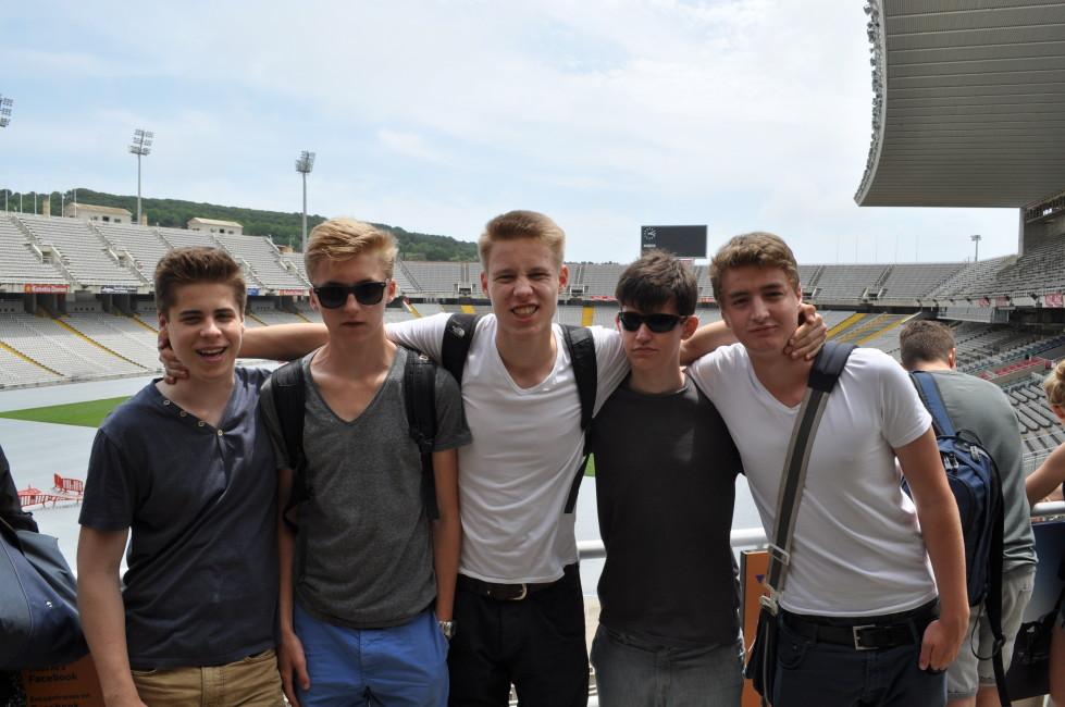 Geoprofil Barcelona 2014 Olympiastadion