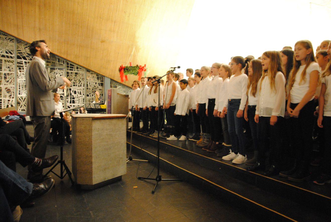 Impressionen vom Weihnachtskonzert in der Cantate Kirche