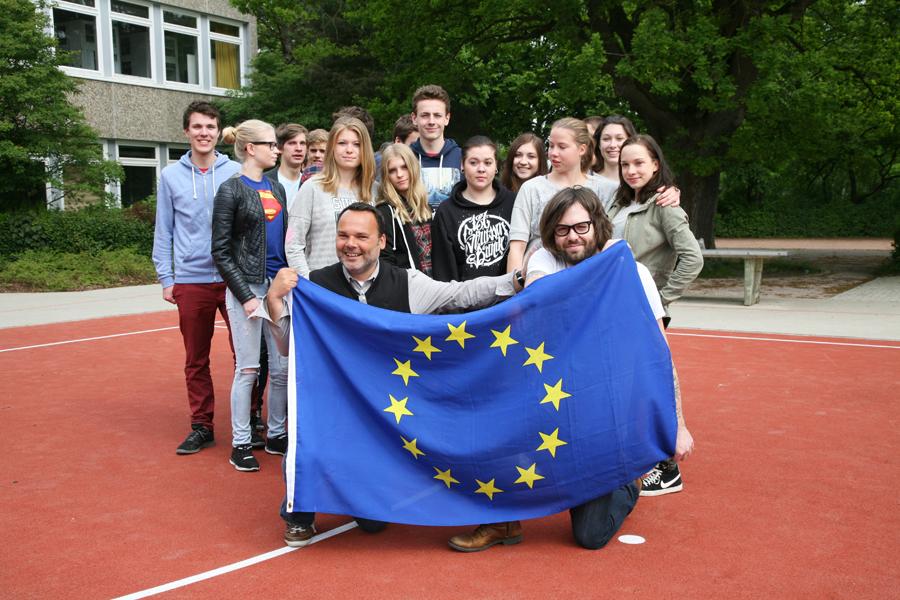 Internationales Profil / Förderung des Europagedankens