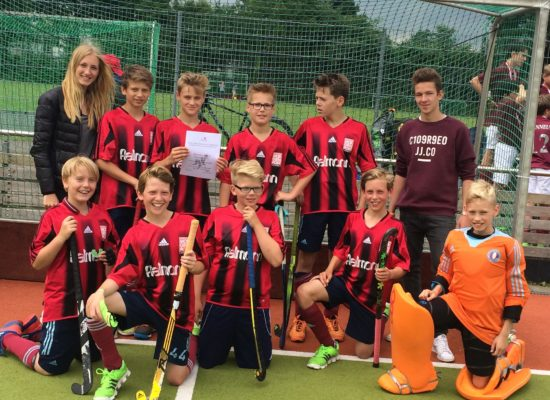 Erfolg der Hockeyschulmannschaft der Jungen WK IV