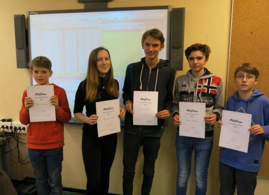 GO Schulschach-Meisterschaften 2016