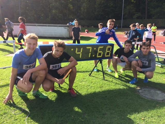 Hamburger Meisterschaften bei den Staffelläufen und bei Rapido