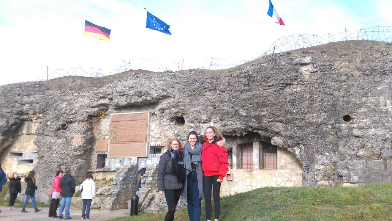 GO-Botschafter für den Frieden - deutsch-französische Begegnung in Verdun
