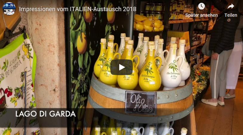 Impressionen vom ITALIEN-Austausch 2018