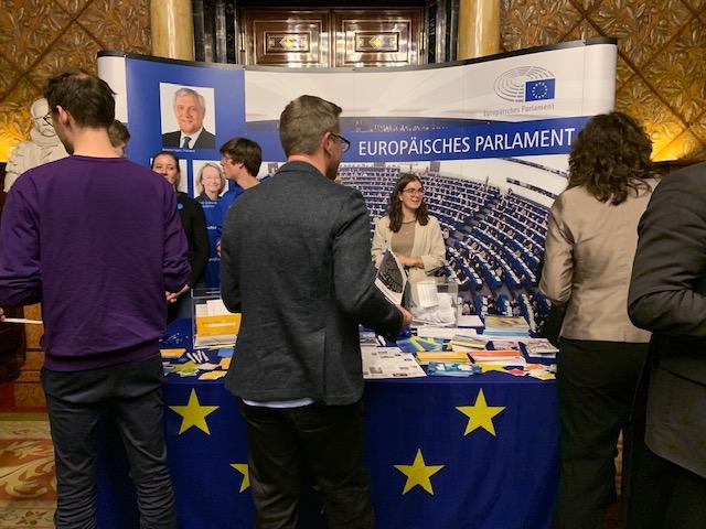 Mitreden über Europa -  Diskussionsrunde im Rathaus