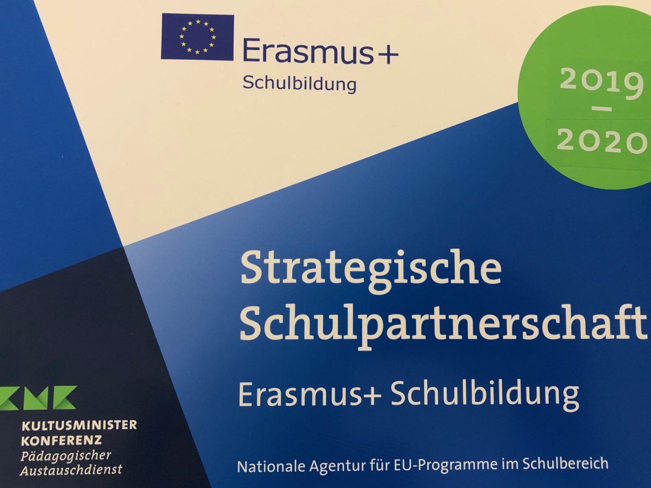 ERASMUS+ Förderung, GO wird strategischer Partner